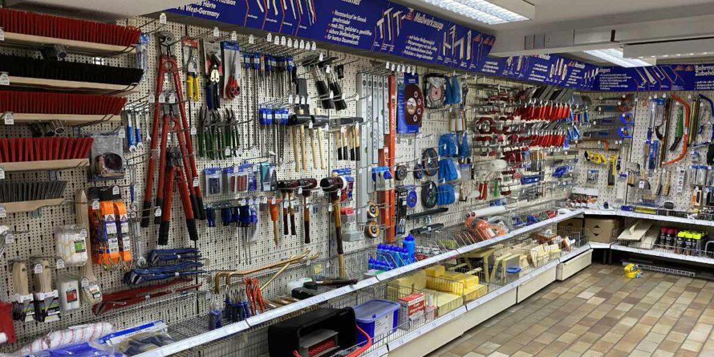 Bauelemente und Werkzeuge